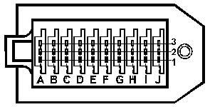 30-ти контактный разъем концерна PSA (Peugeot-Citroen)