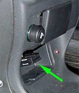 Примеры расположения разъема на отдельных моделях автомобилей ВАЗ