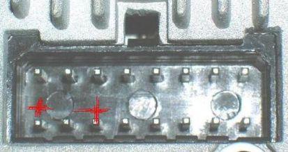 Разъём магнитолы Jvc