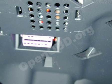 Примеры расположения разъема на отдельных моделях автомобилей Audi