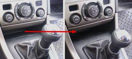 Примеры расположения разъема на отдельных моделях автомобилей Peugeot